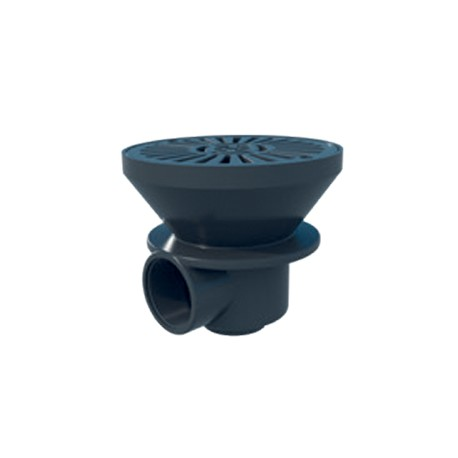 Bonde de fond D170mm Astralpool - Gris Anthracite