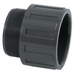 Embout PVC Pression Piscine 63 / 50 x 2''
