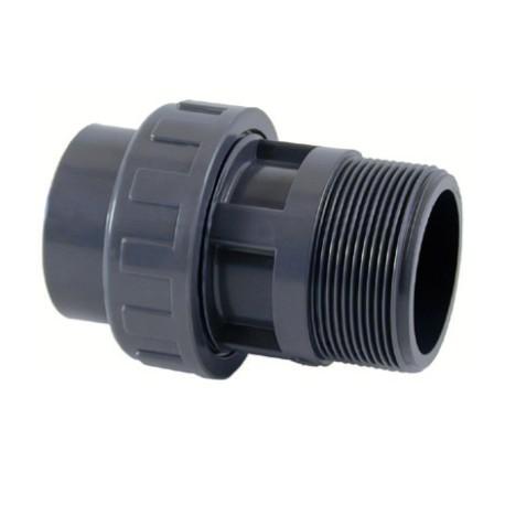 Raccord Union PVC Pression Mixte 50x2''