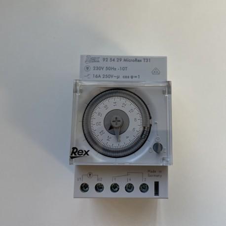 Horloge Modulaire 24H Legrand Rex - MicroRex T31
