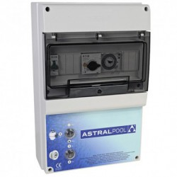Coffret électrique pour filtration et 3 projecteurs