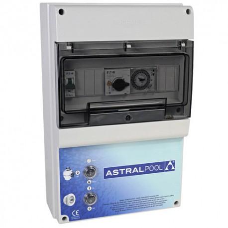 image: Coffret électrique pour filtration et 3 projecteurs