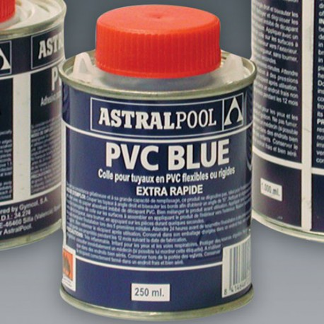 image: Colle bleue PVC souple / PVC rigide 250 ml