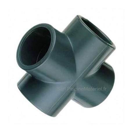 image: Croix PVC Pression à coller D 75