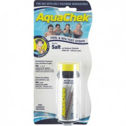 Aquachek Sel White - 10 Bandelettes