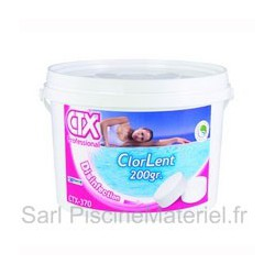 Chlore Lent CTX373 - Galet 250gr - 5kg