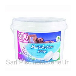 image: Chlore MultiFonctions CTX393 - Galet 250gr - 5kg