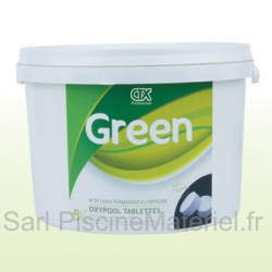Oxygène Actif Piscine Oxypool CTX GREEN - Tablettes 100gr - 6kg
