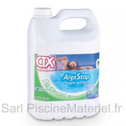 Anti Algues Piscine Alga Stop Triple Action CTX570 - Bidon 5L