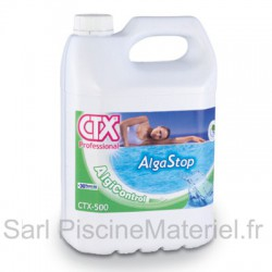 Anti Algues Piscine Alga Stop CTX500 - Bidon 5L