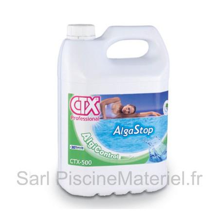 image: Anti Algues Piscine Alga Stop CTX500 - Bidon 5L