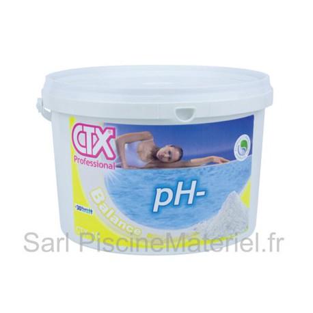 image: pH Moins Piscine CTX10 - Granulés - 5kg