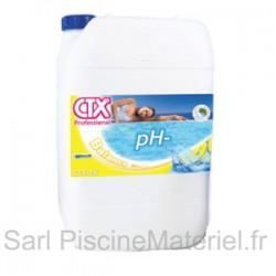 pH Moins Liquide Piscine CTX15 - Bidon de 20L