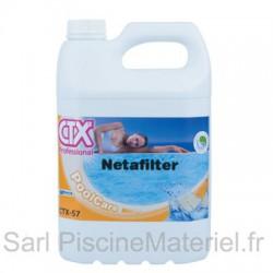image: Nettoyant Filtre Piscine - NETAFILTER CTX57 - Bidon de 5L