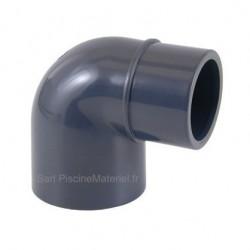 Coude PVC Pression 90° D63 MxF